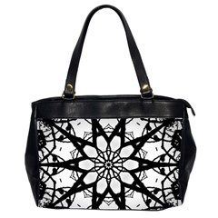 Pattern Abstract Fractal Office Handbags (2 Sides)