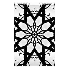 Pattern Abstract Fractal Shower Curtain 48  X 72  (small)