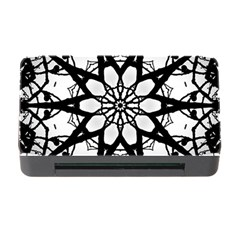 Pattern Abstract Fractal Memory Card Reader With Cf