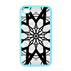 Pattern Abstract Fractal Apple Iphone 4 Case (color)