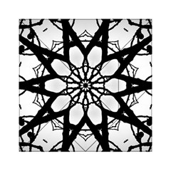 Pattern Abstract Fractal Acrylic Tangram Puzzle (6  X 6 )