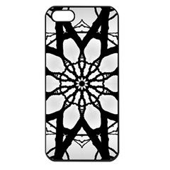 Pattern Abstract Fractal Apple Iphone 5 Seamless Case (black)