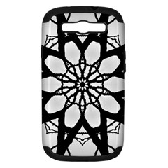 Pattern Abstract Fractal Samsung Galaxy S Iii Hardshell Case (pc+silicone)