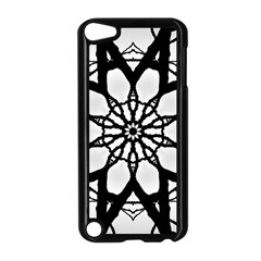 Pattern Abstract Fractal Apple Ipod Touch 5 Case (black)