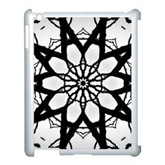 Pattern Abstract Fractal Apple Ipad 3/4 Case (white)