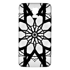 Pattern Abstract Fractal Samsung Galaxy S5 Back Case (white)