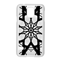 Pattern Abstract Fractal Samsung Galaxy S5 Case (white)