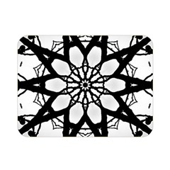 Pattern Abstract Fractal Double Sided Flano Blanket (mini)