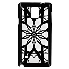 Pattern Abstract Fractal Samsung Galaxy Note 4 Case (black)