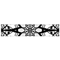 Pattern Abstract Fractal Flano Scarf (small)