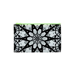 Pattern Abstract Fractal Cosmetic Bag (xs)