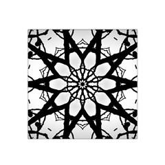 Pattern Abstract Fractal Satin Bandana Scarf