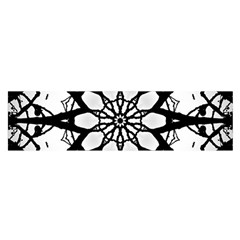 Pattern Abstract Fractal Satin Scarf (oblong)