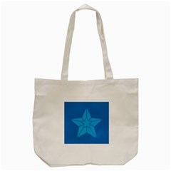 Star Design Pattern Texture Sign Tote Bag (cream)