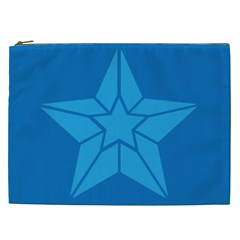 Star Design Pattern Texture Sign Cosmetic Bag (xxl)