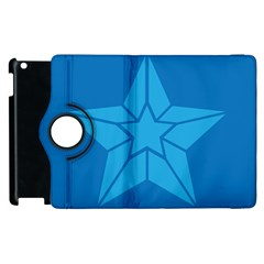 Star Design Pattern Texture Sign Apple Ipad 2 Flip 360 Case