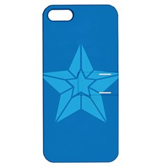 Star Design Pattern Texture Sign Apple Iphone 5 Hardshell Case With Stand