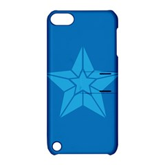 Star Design Pattern Texture Sign Apple Ipod Touch 5 Hardshell Case With Stand