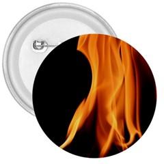Fire Flame Pillar Of Fire Heat 3  Buttons