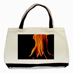 Fire Flame Pillar Of Fire Heat Basic Tote Bag