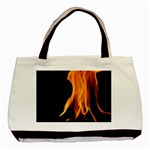 Fire Flame Pillar Of Fire Heat Basic Tote Bag Front