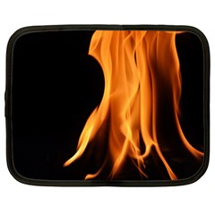 Fire Flame Pillar Of Fire Heat Netbook Case (large)