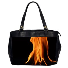 Fire Flame Pillar Of Fire Heat Office Handbags (2 Sides)