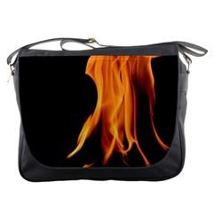 Fire Flame Pillar Of Fire Heat Messenger Bags