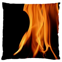 Fire Flame Pillar Of Fire Heat Large Cushion Case (two Sides)