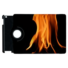 Fire Flame Pillar Of Fire Heat Apple Ipad 2 Flip 360 Case