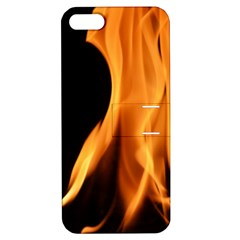 Fire Flame Pillar Of Fire Heat Apple Iphone 5 Hardshell Case With Stand