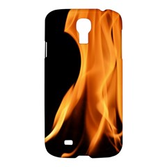 Fire Flame Pillar Of Fire Heat Samsung Galaxy S4 I9500/i9505 Hardshell Case