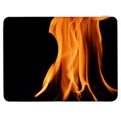 Fire Flame Pillar Of Fire Heat Samsung Galaxy Tab 7  P1000 Flip Case