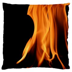 Fire Flame Pillar Of Fire Heat Large Flano Cushion Case (one Side)