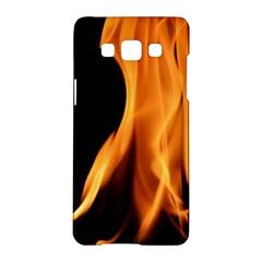 Fire Flame Pillar Of Fire Heat Samsung Galaxy A5 Hardshell Case