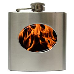 Fire Flame Heat Burn Hot Hip Flask (6 Oz)