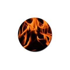 Fire Flame Heat Burn Hot Golf Ball Marker