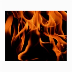 Fire Flame Heat Burn Hot Small Glasses Cloth