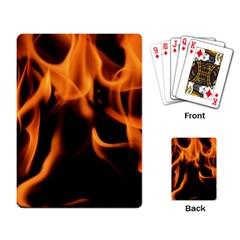 Fire Flame Heat Burn Hot Playing Card