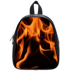 Fire Flame Heat Burn Hot School Bags (small)