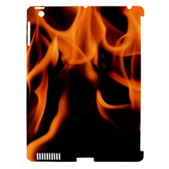 Fire Flame Heat Burn Hot Apple Ipad 3/4 Hardshell Case (compatible With Smart Cover)