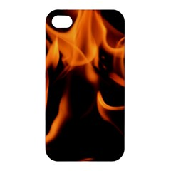 Fire Flame Heat Burn Hot Apple Iphone 4/4s Premium Hardshell Case