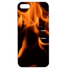 Fire Flame Heat Burn Hot Apple Iphone 5 Hardshell Case With Stand