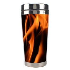 Fire Flame Heat Burn Hot Stainless Steel Travel Tumblers
