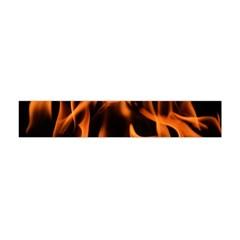 Fire Flame Heat Burn Hot Flano Scarf (mini)