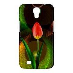 Tulip Flower Background Nebulous Samsung Galaxy Mega 6 3  I9200 Hardshell Case