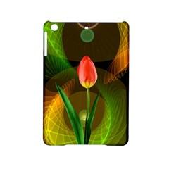 Tulip Flower Background Nebulous Ipad Mini 2 Hardshell Cases