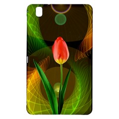Tulip Flower Background Nebulous Samsung Galaxy Tab Pro 8 4 Hardshell Case