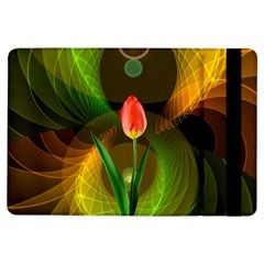 Tulip Flower Background Nebulous Ipad Air Flip
