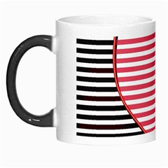 Heart Stripes Symbol Striped Morph Mugs